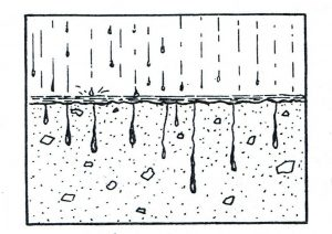 การซึมผ่านของน้ำ